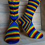 Biscotte Yarns Cheshire Cat Socks Kit