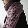 Cascade Yarns Retro Cables Scarf Kit