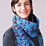 Urth or Madelinetosh Coffee Circle Scarf Kit