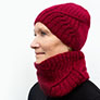 Shibui Knits Standing Tall Hat & Cowl Kit