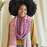 Universal Yarn Palmetto Scarf Kit