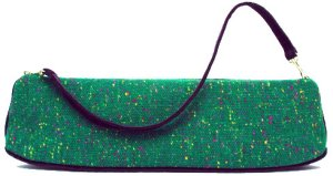 Offhand Designs Zelda Knitting & Crochet Handbag - Emerald Speckle