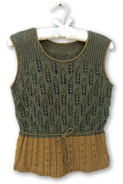 Knit One, Crochet Too Patterns - Harvest Tank Pattern
