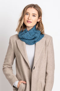 Blue Sky Fibers Coldwater Cowl Kit - Scarf and Shawls