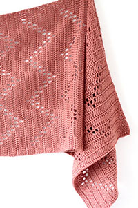Cascade Devon Sideways Shawl Kit - Crochet for Adults