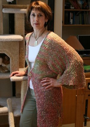 Knitting Pure and Simple Women's Cardigan Patterns - 0282 - Kimono