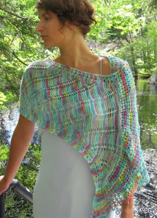 Ilga Leja Handknit Designs Patterns - zTidal Streams Pattern