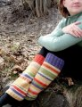 Knitting at Knoon Patterns - Funky Punky Leg Warmers