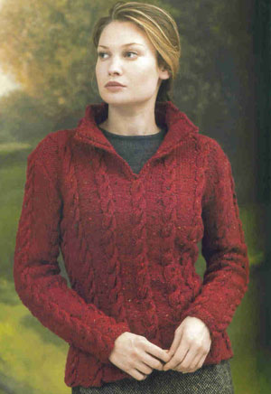 Tahki Donegal Tweed Scottish Isles Pullover Kit - Women's Pullovers