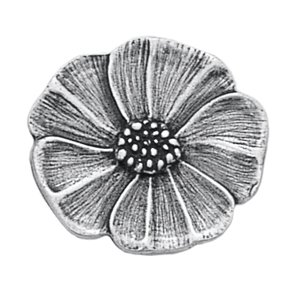 Danforth Pewter Buttons - Wild Rose - 1""