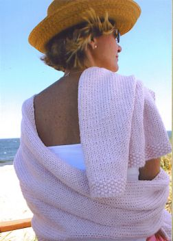 Mac & Me Worsted Cotton Summer Wrap Kit - Scarf and Shawls