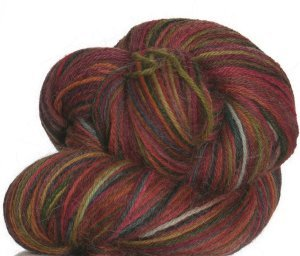 Misti Alpaca Hand Paint Sock Yarn - 02 - Blood Lines (Discontinued)