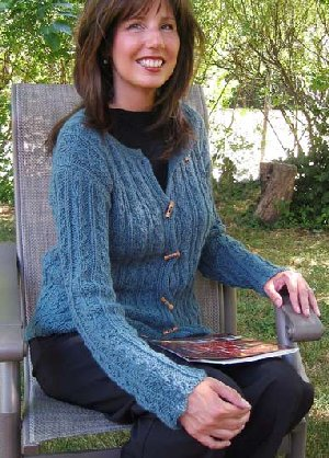 Misti Alpaca Patterns - Jana - Lady's Jacket Pattern