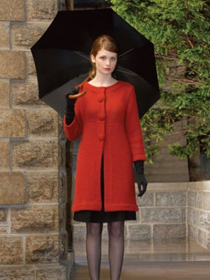 Blue Sky Fibers Adult Clothing Patterns - Audrey Coat Pattern