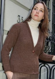 Dovetail Designs Knitting and Crochet Patterns - zLightweight Jacket - K2.26 Pattern
