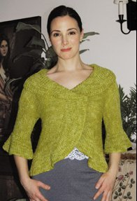 Dovetail Designs Knitting and Crochet Patterns - Saratoga Shrug Pattern
