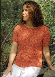 Dovetail Designs Knitting and Crochet Patterns - Summer Top Pattern