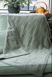 Dovetail Designs Knitting and Crochet Patterns - Reversible Afghan Pattern