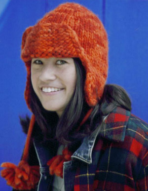 Mac & Me Patterns - z092 Bulky Earflap Hat Pattern