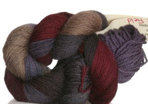 Cherry Tree Hill Possum Sock Yarn - Grape Field