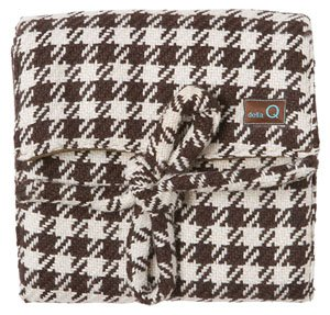 della Q The Que - Lily Tweed - Brown/White