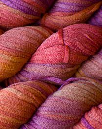 South West Trading Company Oasis Hand Dyed Soysilk Yarn - Painted Desert BIG