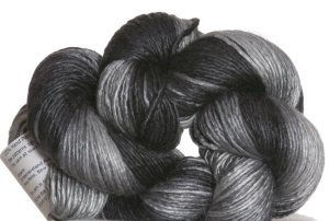 Artyarns Regal Silk Yarn - 148 - Black/Grey