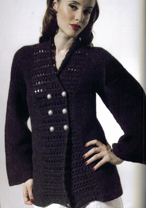 Cascade Lana D'Oro Double Breasted Cardigan Kit - Women's Cardigans
