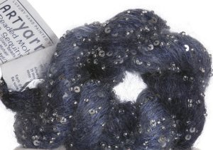 Artyarns Beaded Mohair and Sequins Yarn - 2267 w/Silver