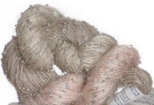 Artyarns Beaded Mohair and Sequins Yarn - 167 w/Silver