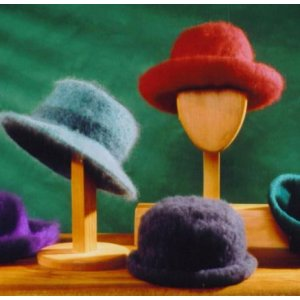 Fiber Trends Pattern Patterns - Felt Hat With Rim Variations Pattern