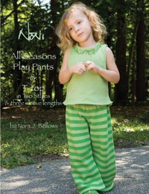 Noni Patterns - zAll Seasons Play Pants & T-top Pattern
