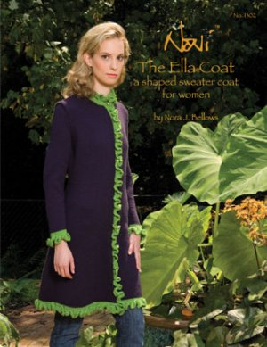 Noni Patterns - The Ella Coat Pattern