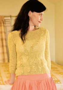 Berroco Seduce Frond Pullover Kit - Women's Pullovers