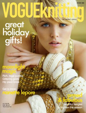 Vogue Knitting International Magazine - z'08 Holiday