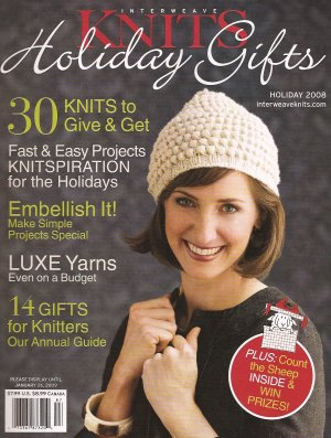 Interweave Knits Magazine - '08 Holiday Gifts (Discontinued)