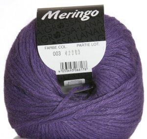 Lana Grossa Meringo Yarn - 03 - Grape