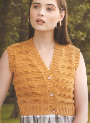 Rowan Pima Cotton DK Cheer Kit - Vests