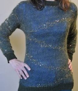 Artyarns Patterns - I124 Splash Pullover Pattern