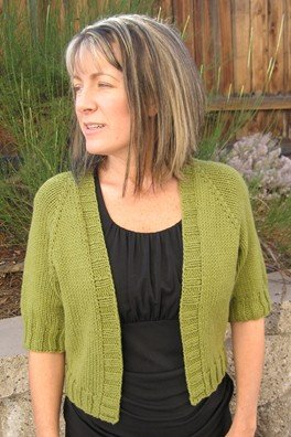 Knitting Pure and Simple Women's Cardigan Patterns - 0294 - Summer Open Cardigan Pattern