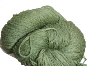 South West Trading Company Oasis Hand Dyed Soysilk Yarn - Emerald Green BIG