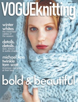 Vogue Knitting International Magazine - '08/'09 Winter