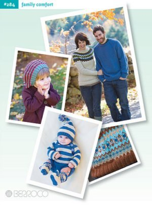 Berroco Pattern Books - 284 - Family Comfort