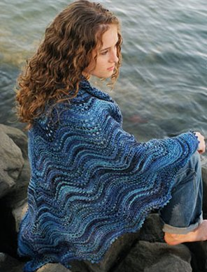Fiber Trends Pattern Patterns - Shoalwater Shawl Pattern