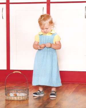 Blue Sky Fibers Adult Clothing Patterns - Girl's Cable Jumper Pattern