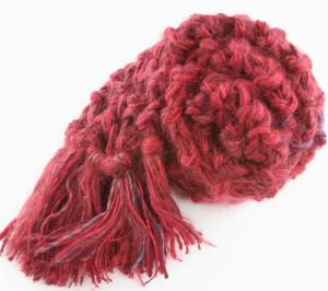 Jimmy Beans Wool Knit For A Cause Scarves - Heart Disease Support Scarf (Stitch Red)