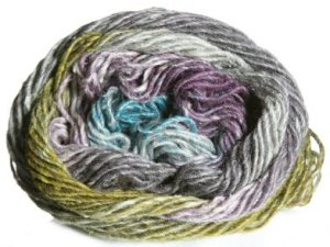 Noro Silk Garden Yarn - 272 Greys,Lime,Brown (Discontinued)