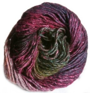 Noro Silk Garden Yarn - 282 Purples,Gold,Green (Discontinued)