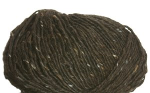Debbie Bliss Luxury Tweed Aran Yarn - 14 Chocolate
