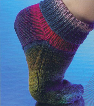 Noro Kureyon Sock Sparrow Kit - Socks